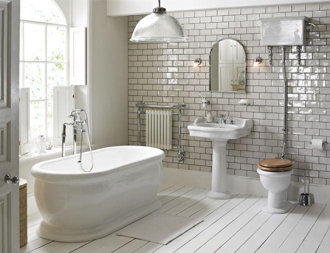Heritage Bathroom Installation #bathroom #white