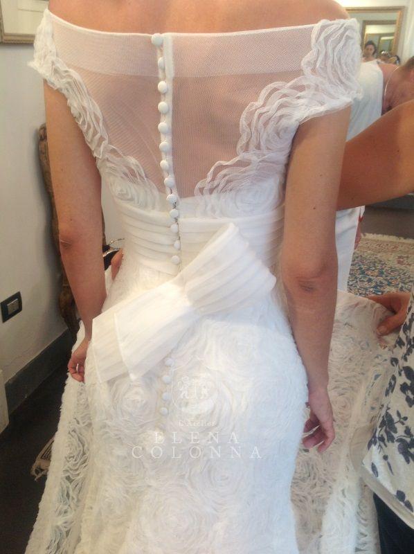 I preparativi per le nozze. La prova finale dell'abito da sposa. I consigli di Elena Colonna.