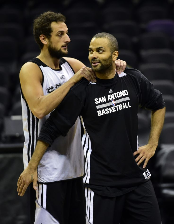 Marco Belinelli and Tony Parker | The Fantasic Marco ...