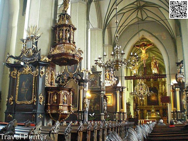 Oldest #Church in #Europe St. Nicholas in #Gdansk