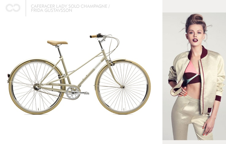 Caferacer lady solo champagne / Frida Gustavsson
