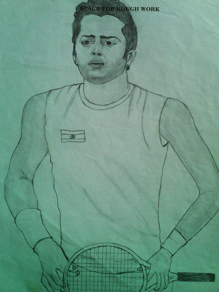 "venky's ""CHITRALEKHANAM"": INDIAN Tennis player ""Leander Paes"""
