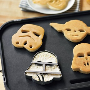 the force is strong with....MY BREAKFAST!!!