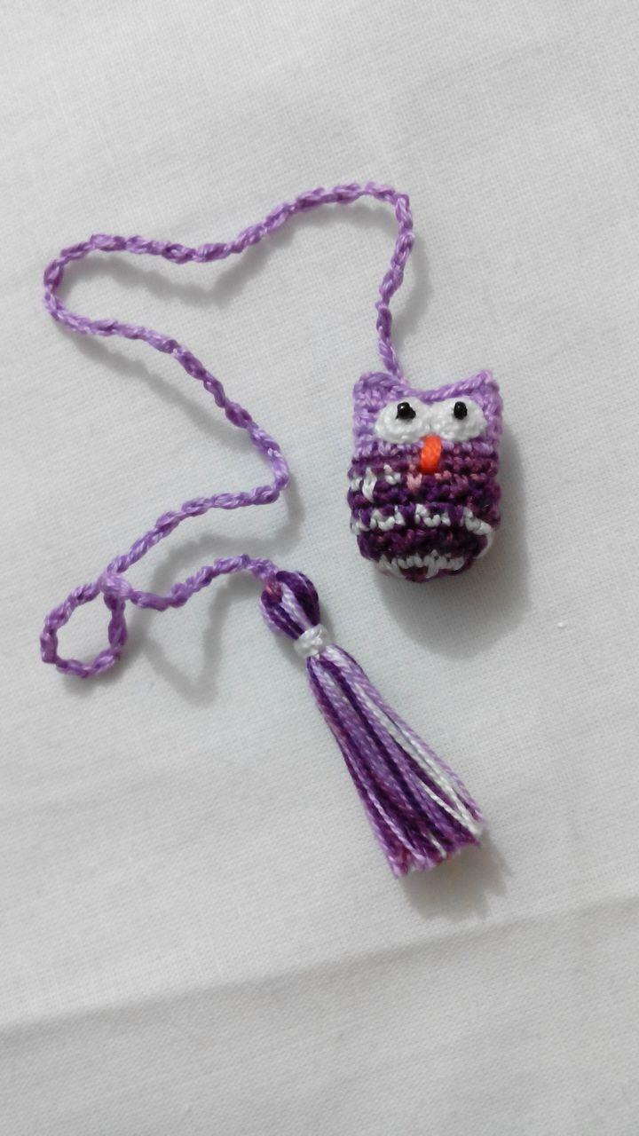 Separador  de libros crochet creación Primorosa - Patricia Hernández