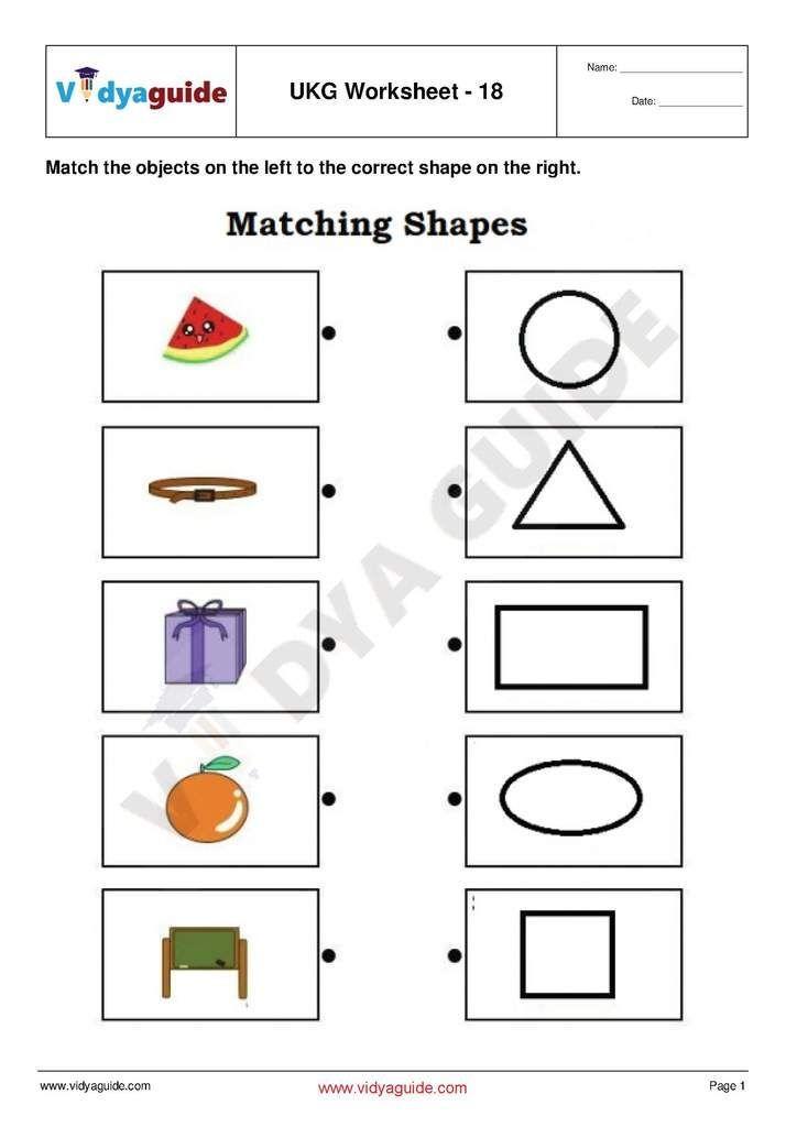 Free Printable Worksheets For Lkg Shape Kindergarten Worksheets Free Printable Worksheets Printable Worksheets