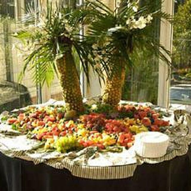 Best ideas about pineapple tree centerpieces on