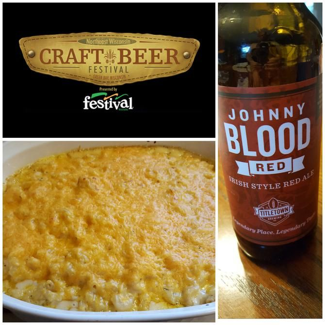 All this month, I've been focusing on some recipes that feature great craft beer.  The      NEW Craft Beer Festival, presented by Festival Foods    , is coming to Green Bay on October 8th.  This homemade mac