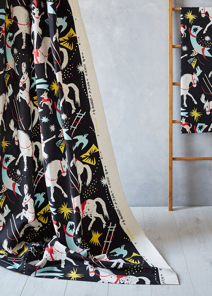 Mark Hearld's 'Cirque D'Hiver' fabric for St Jude's