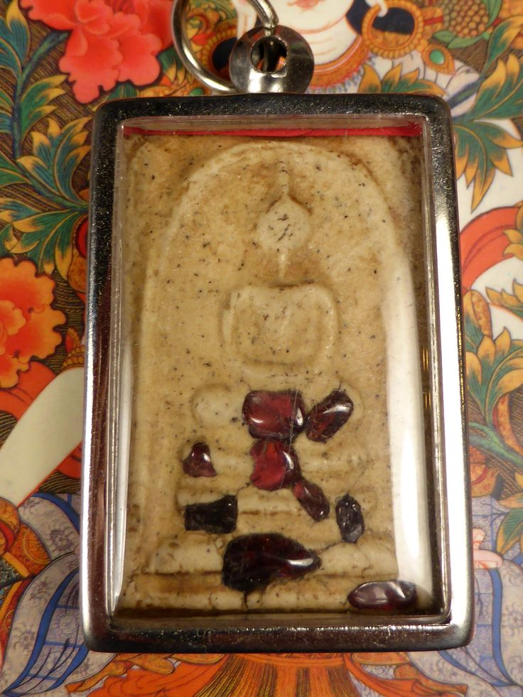 Buddhist amulet from Thailand