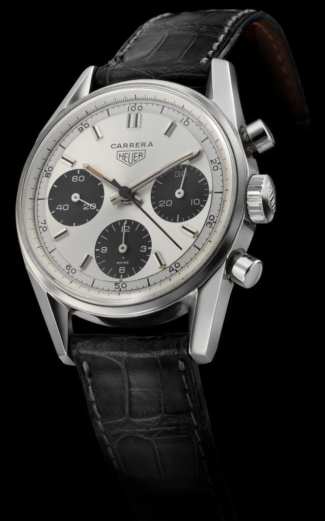 Heuer Carrera 12 1963 Heuer Ceo Jack Heuer Named This Watch After The Hair Raising 2 000 Plus Mile Carrera Panamerica Tag Heuer Carrera Watch Fine Watches