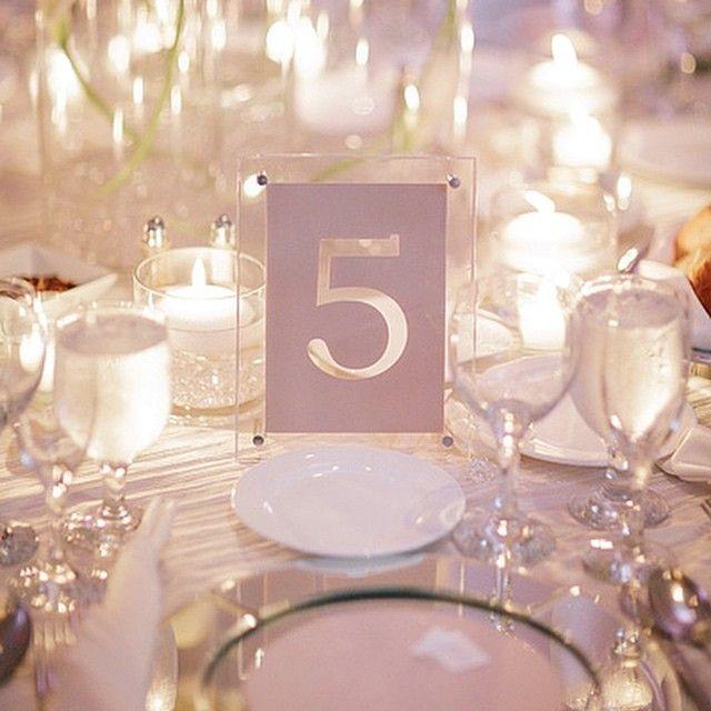 #tablenumber #lasercut #wedding #lucite