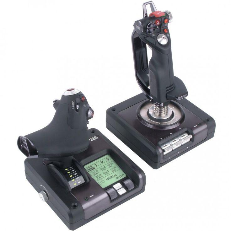 Saitek X52 Pro  £150 appprox Throttle and Stick for PC and Apple  the best throttle  Joystick available http://www.freeonlineflightsimulator.com/saitek-x52-pro/ #saitek #joystick #throttle #flight simulator #flight #game