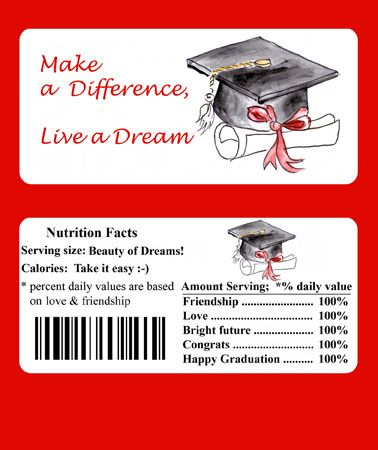 Free Printable Graduation Chocolate Candy Wrapper ...