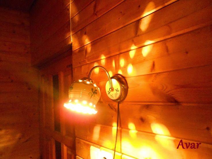 Mediterrán kerámia lámpák