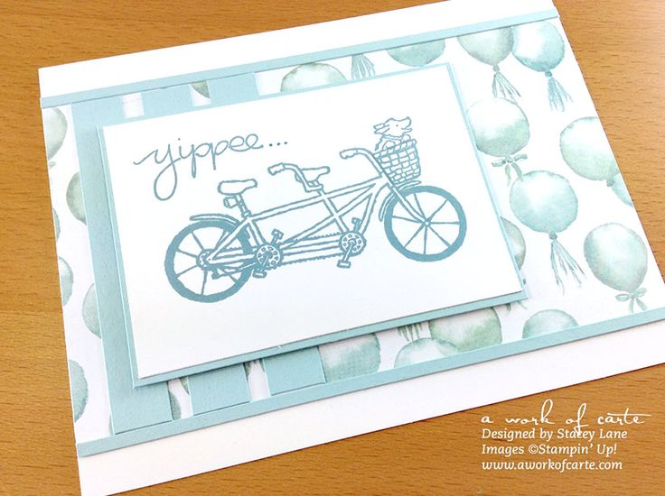 Stampin' Up Sale-A-Bration 2016 Pedal Pusher | A Work of Carte