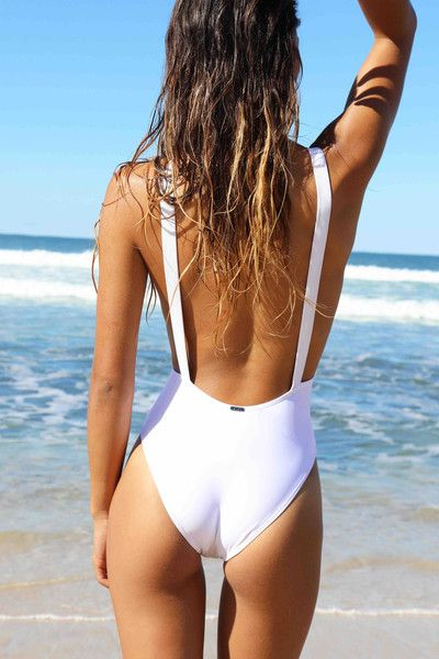 Wategos One Piece ~ White sustainably manufactured