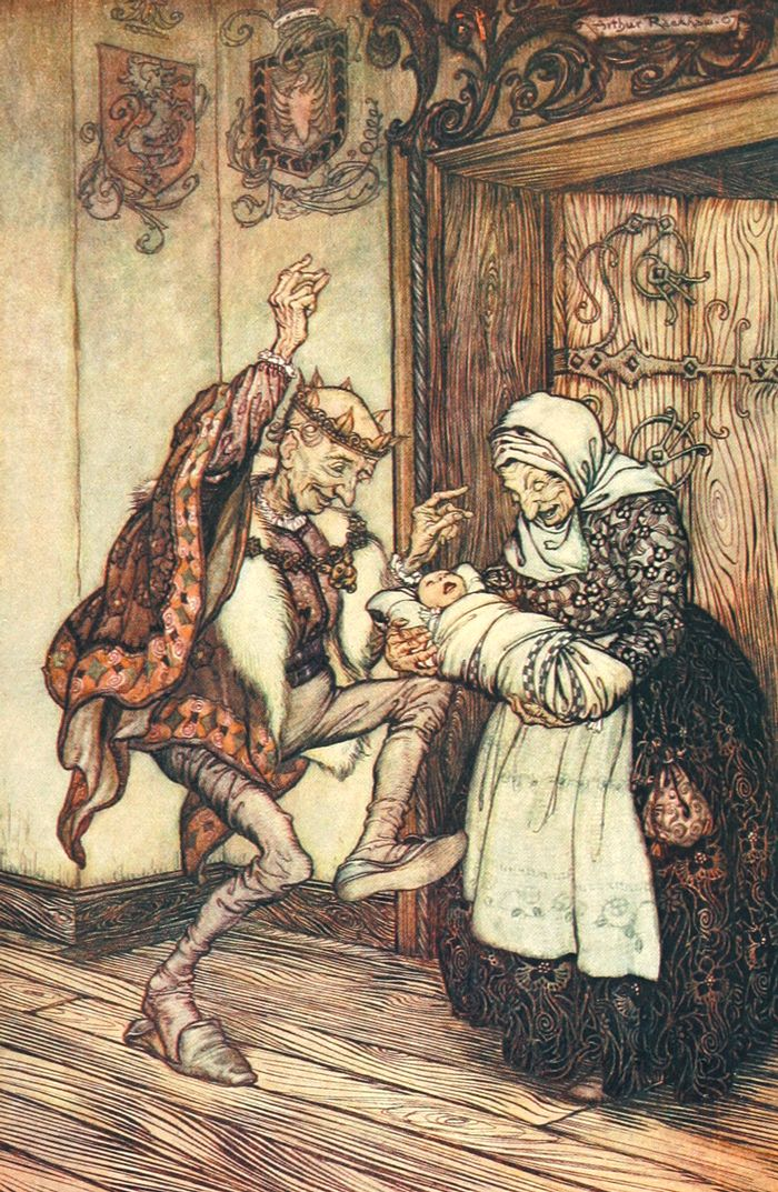 Briar-Rose, Sleeping Beauty, Brothers Grimm, Arthur Rackham