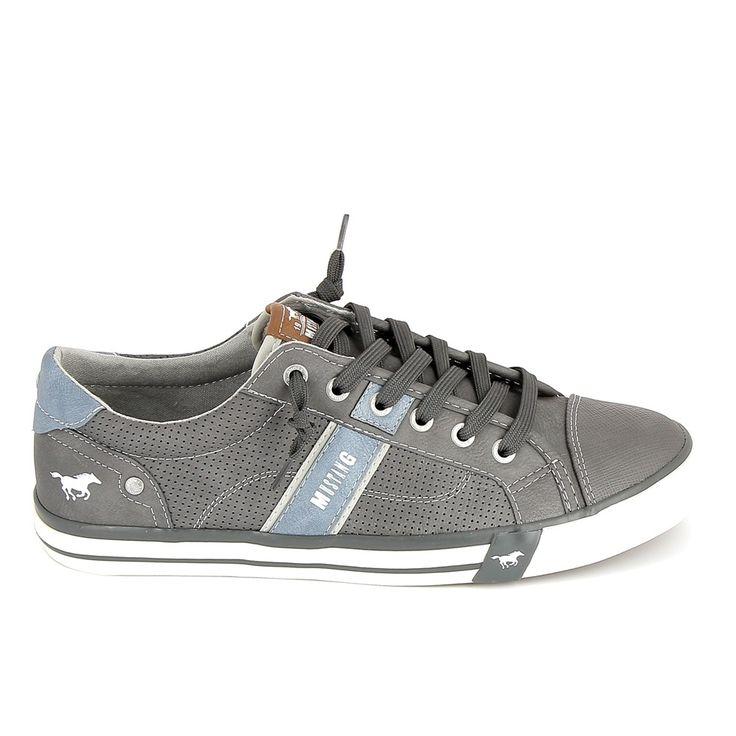 MUSTANG Sneakers 4072301 Gris