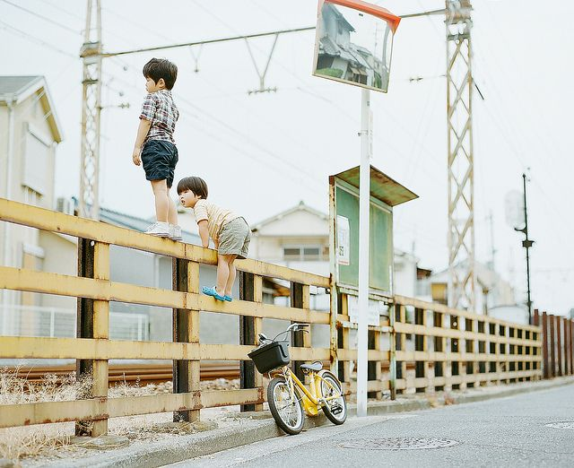 livin' on the edge by Hideaki Hamada  日本小孩怎麼拍都好可愛