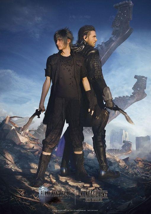 Noctis & Nyx - Final Fantasy XV