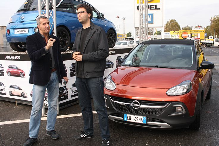 durante l'intervista alla concessionaria Opel #opel #opeldamrocks #alvolante