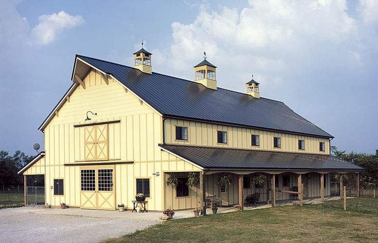 2 Story Polebarn House Plans Story Custom Pole Barn