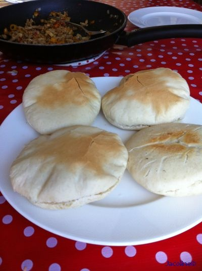 Gezond leven van Jacoline: Pita broodjes