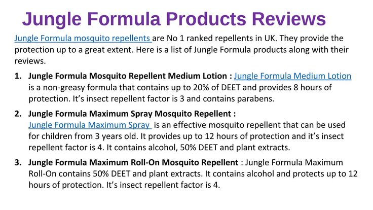 Jungle formula is UK's No 1  mosquito repellent. It gives minimum 8 to 12 hours of protection in form of Lotion, Spray, Roll On and more. #MosquitoRepellent #JungleFormula #M+JungleFormulaLotion #Spray #RollOn
