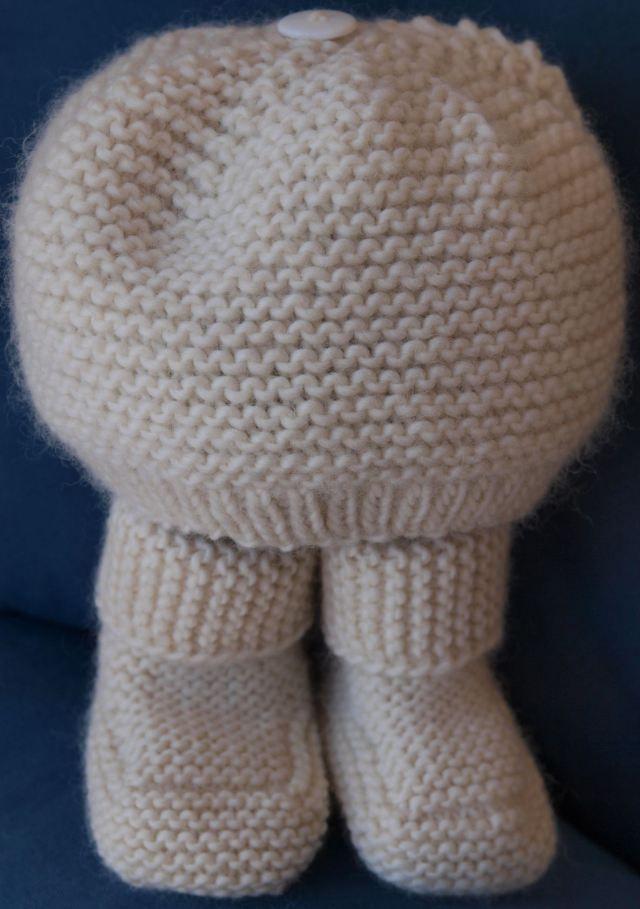 Famoso Free Garter Stitch Knitting Patterns Cresta - Manta de Tejer ...