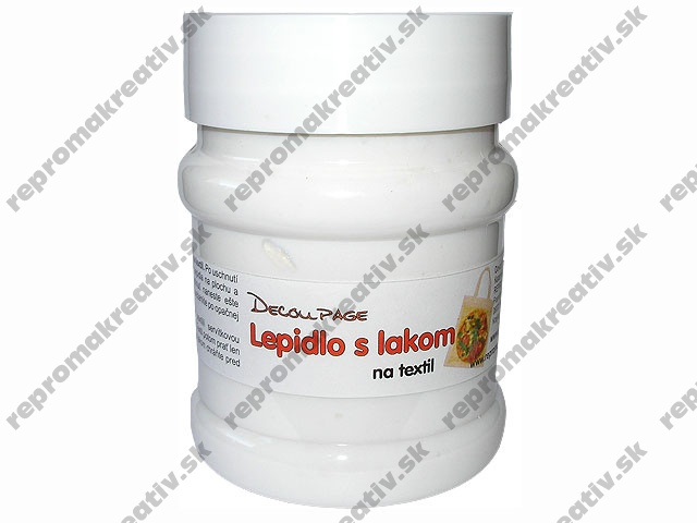 Decoupage lepidlo s lakom na textil - 230ml