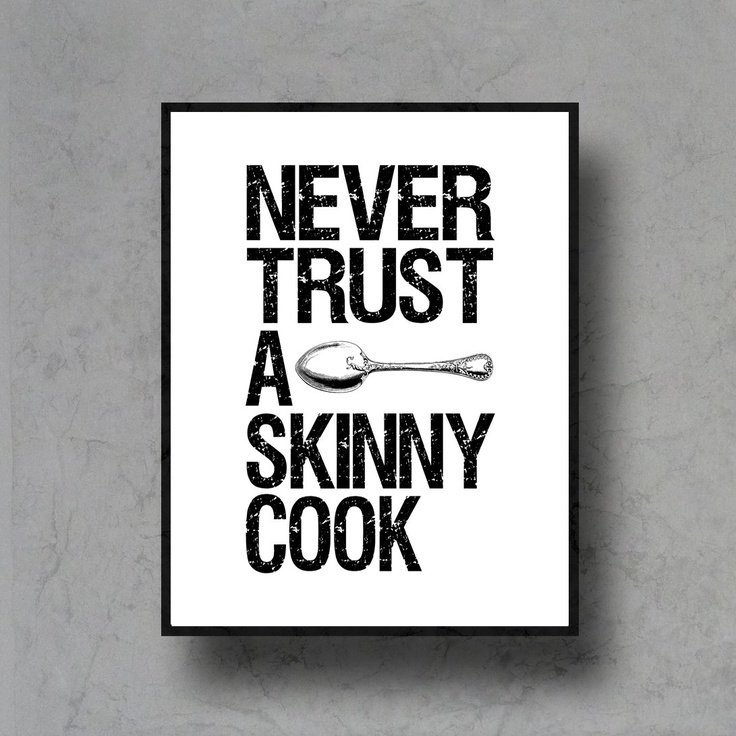 Typographic art spoon print quote poster inspirational black white typography 8x10 kitchen decor motivational 13 95