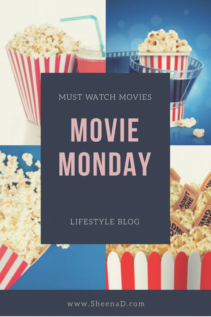 The ultimate must watch movie list, to make Monday's less mundane than it needs to be. Sit back and be entertained.