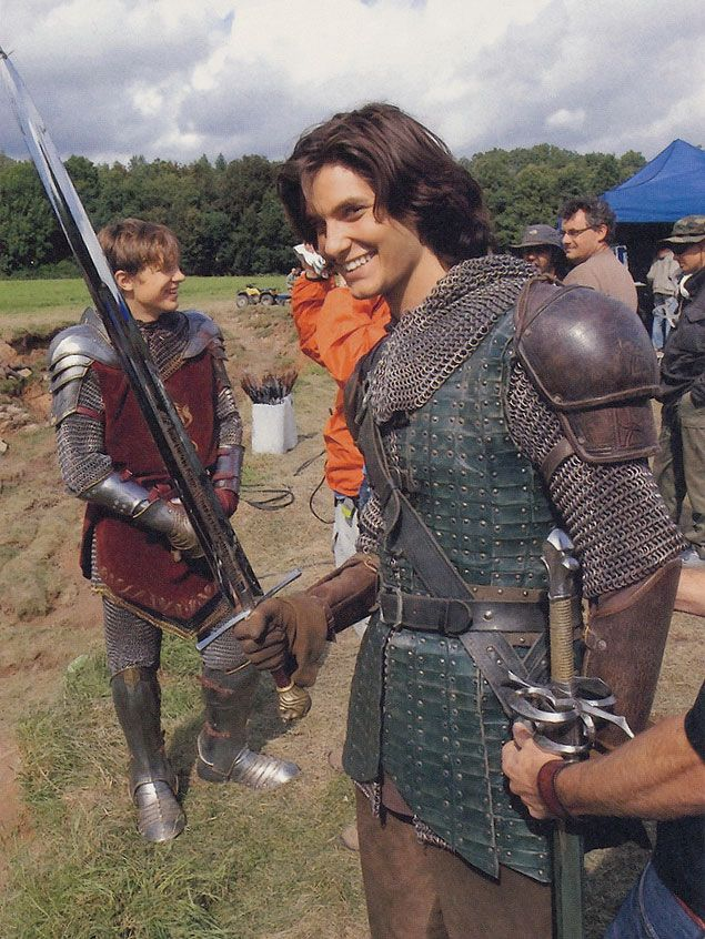 The Chronicles of Narnia – Prince Caspian (2008) Starring: William Moseley as Peter Pevensie and Ben Barnes as Prince Caspian. Behind the scenes.