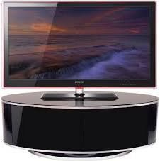 MDA Design ZIN502610  Luna Oval Shape High Gloss Black TV Stand   (£278.99 from The Plasma Centre - March 2015)