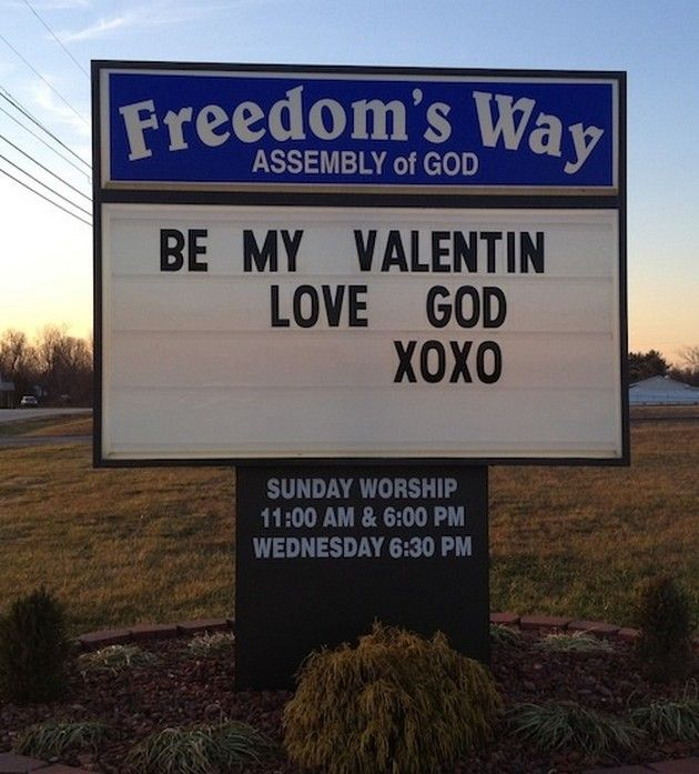 Funny Church Quotes, Church Signs And Religious
