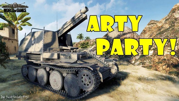World of Tanks - Funny Moments | ARTY PARTY! #31