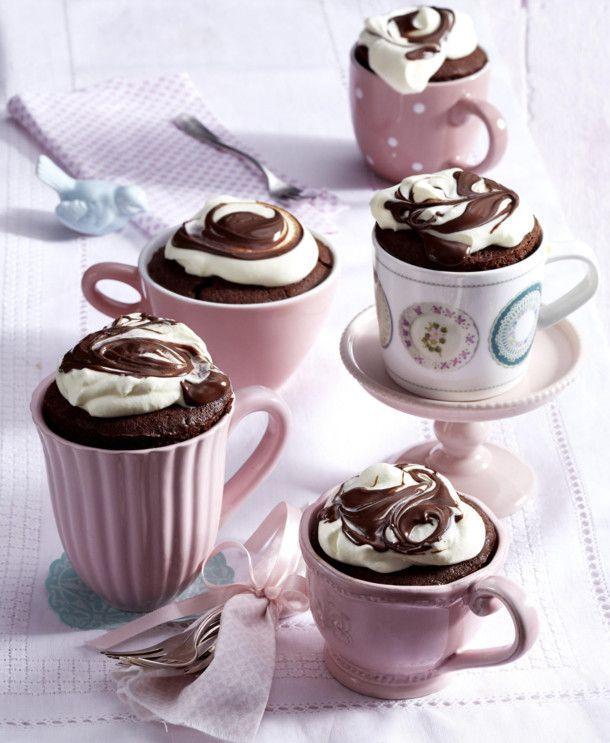 Unser beliebtes Rezept für Tassenkuchen mit Nuss-Nougat-Creme und mehr als 55.000 weitere kostenlose Rezepte auf LECKER.de.