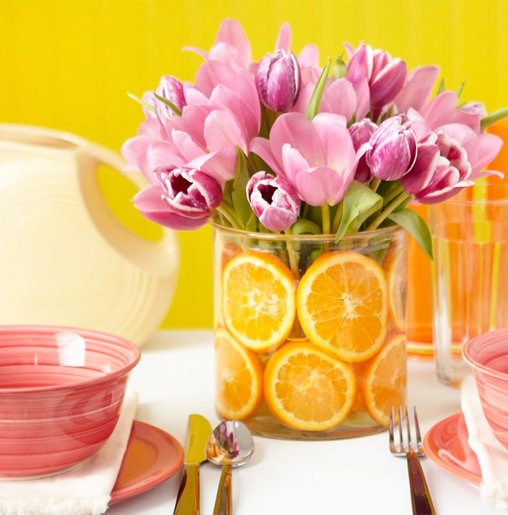 skip the long lines and make a beautiful mothers day brunch at home using our easy summer centerpiecesflower centerpiecescenterpiece ideastable