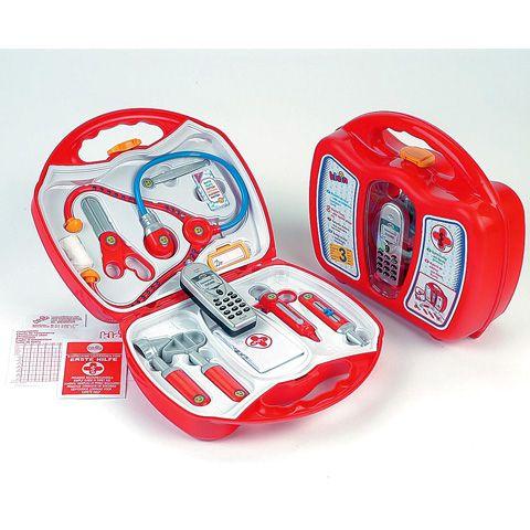 Doktor táska 11 részes mobiltelefonnal - Klein Toys webáruház Doktor táska 11 részes mobiltelefonnal - Klein Toys játékbolt