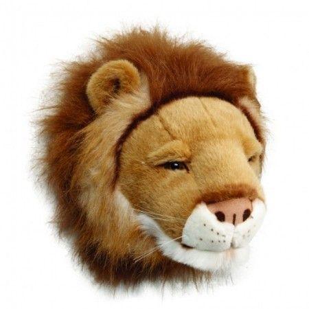 løve dyrehode til Barnerom