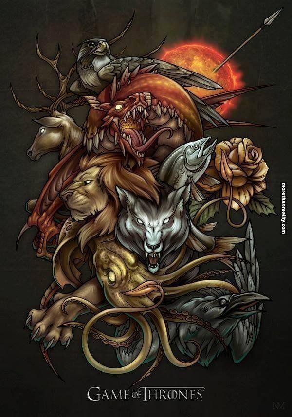Amazing Game of Thrones art