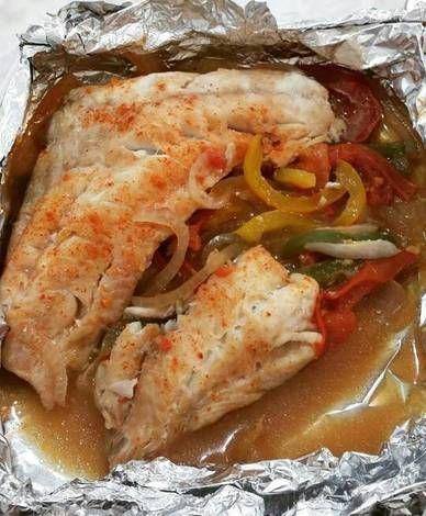 Filete De Pescado Empapelado Receta De Yazmin Serrano Receta Filete De Pescado Empapelado Filetes De Pescado Pescado Empapelado