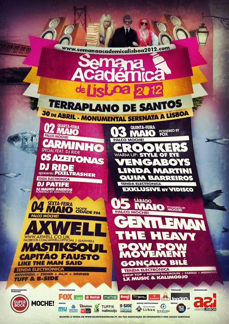 Semana Académica de Lisboa 2012