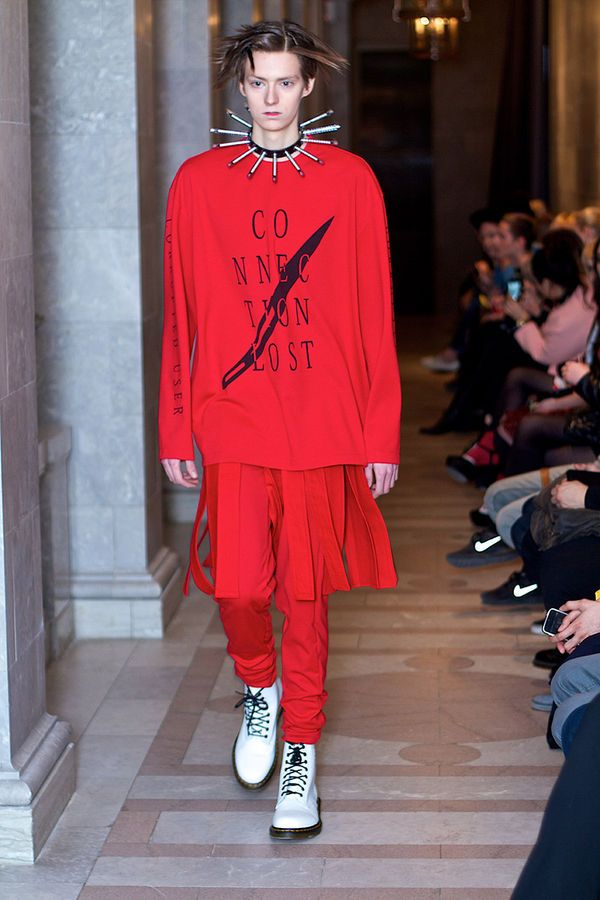 The Lafaille Fall/Winter 2014 Collection References the Deep Web #festivalfashion #menswear trendhunter.com