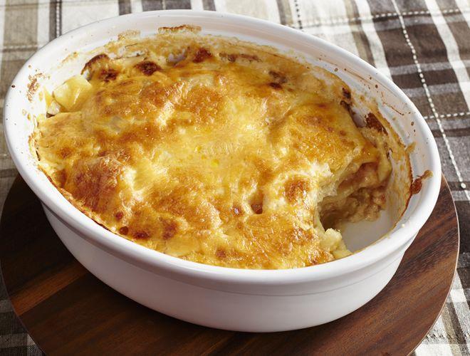 Skinnier Scalloped Potatoes | Recipe | Scalloped Potato ...