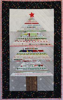 Tutorial! Selvage Christmas Tree & Giveaway! - Ellison Lane