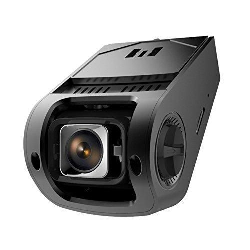 PRUVEEO Q5 1080P Car Dash Cam 170 Degrees Wide Angle with Sony Exmor IMX322 WDR CMOS Sensor Full HD Dashboard Camera Driving Recorder DVR with Night Vision for Vehicles