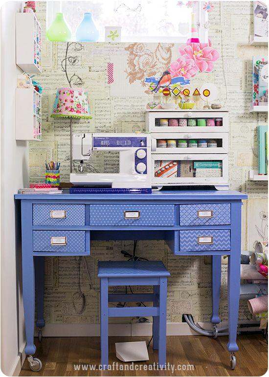 Min syhörna – My sewing space - Craft & Creativity