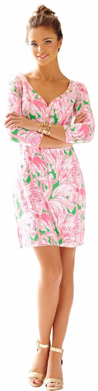 LILLY PULITZER PALMETTO V-NECK T-SHIRT DRESS - spring 2015