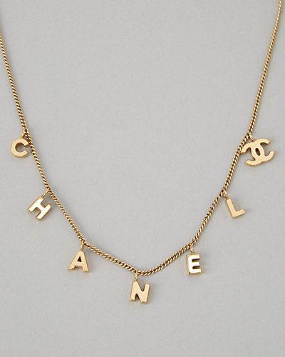 chanel necklace. chanel necklace y